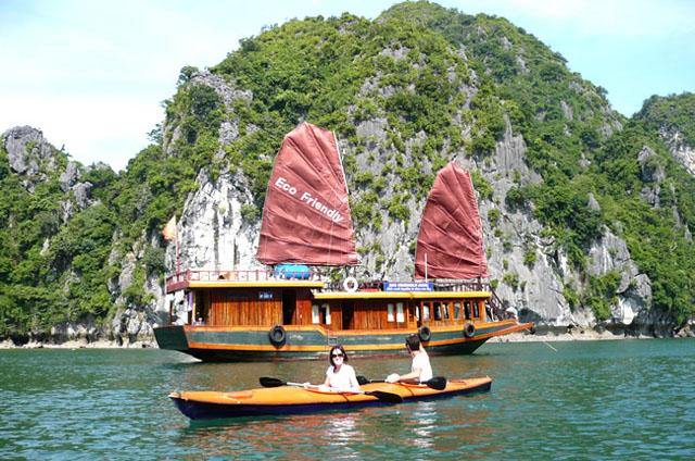 eco friendly cruise halong