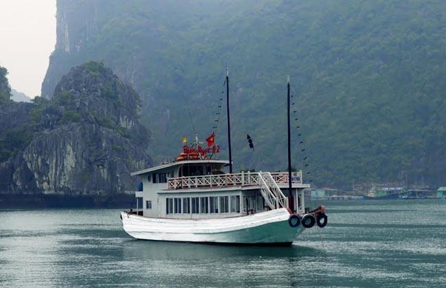 halong day cruise