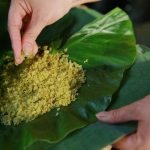 green sticky rice hanoi