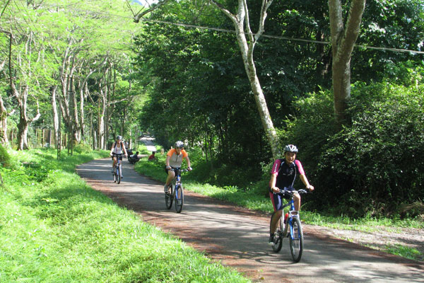 cycling in cuc phuong park
