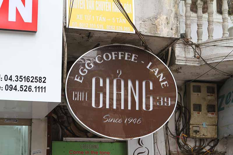 giang cafe hanoi