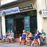 hanoi sidewalk cafe
