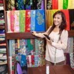 hanoi silk shop