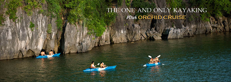 kayaking with orchid cruise