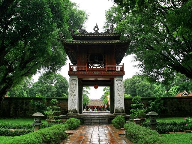temple literature hanoi